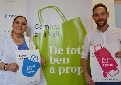 L'Ajuntament de la Vall d'Uixó llança la campanya 'De tot, ben a prop' per a promocionar el comerç local