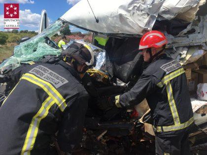 Mor un conductor a la Vall d'Uixó
