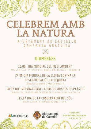 La campanya Celebrem amb la natura s'acomiada fins a la tardor amb una ruta a la Font de la Salut a Castelló