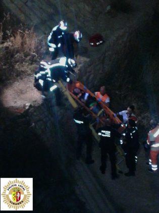 Un xic de 25 anys cau al riu Cérvol a Vinaròs