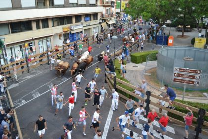 Els bous de Germán Vidal obrin les Penyes en Festes en la Vall d'Uixó