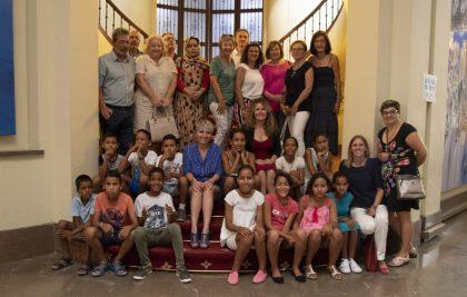 La Diputació col·labora perquè 40 xiquets sahrauís gaudisquen en la província de 'Vacaciones en Paz'
