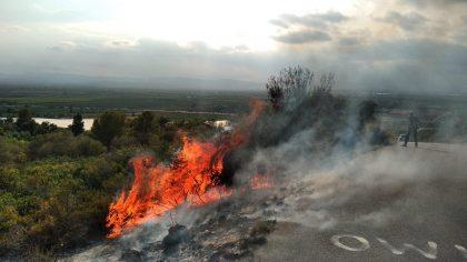 Incendi a l'ermita de Vinaròs