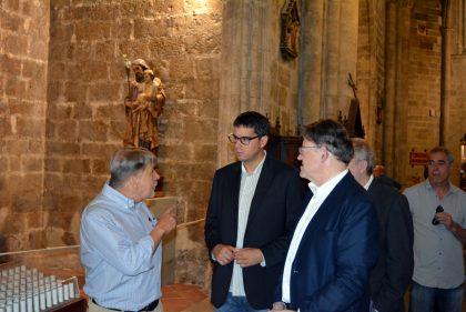 """L'exposició """"Apropant la imatge sagrada"""" a Morella queda inaugurada"""