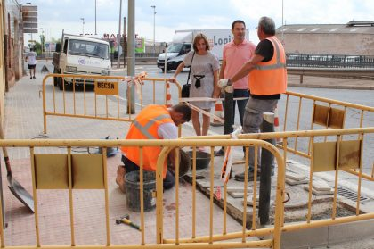 L'Ajuntament d'Onda destina 80.000 euros més a millorar l'accessibilitat de la ciutat