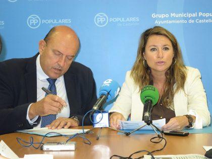 """Carrasco (PP): """"Castelló perd una inversió de 300.000€ per la mala gestió del govern de PSOE i Compromís"""""""