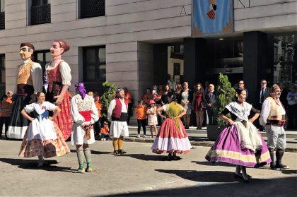 La renovada Desfilada del 9 d'Octubre centra els actes de commemoració a Borriana