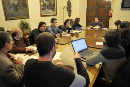 Garcia acorda amb Castelló per la Llengua el pla polític de normalització lingüística per a 2019