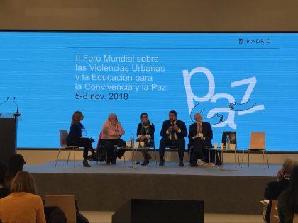 Moliner participa en l'II Fòrum Mundial sobre les Violències Urbanes i l'Educació per a la Convivència i la Pau