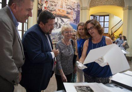 La Diputació inaugurarà divendres que ve l'exposició homenatge a Matilde Salvador en el centenari del seu naixement