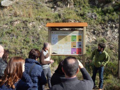 La Diputació senyalitza amb panells informatius Camins de Penyagolosa per a potenciar-los com a producte turístic