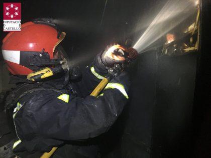 Es crema un edifici a Vila-real