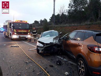 Accident múltiple a Peníscola