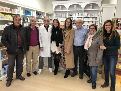 Carrasco es suma al comiat del farmacèutic Domingo Rodríguez