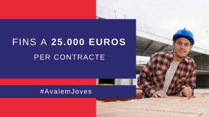 Labora ofereix fins a 25.000 euros per cada contracte indefinit que es faça a menors de 30 anys
