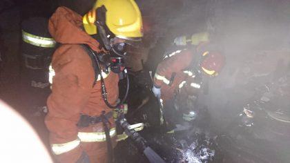 S'incendia un habitatge a Sueca