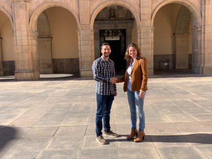 Sergio Toledo serà el director de la campanya del PP amb la qual Begoña Carrasco aspira a ser la pròxima alcaldessa de Castelló