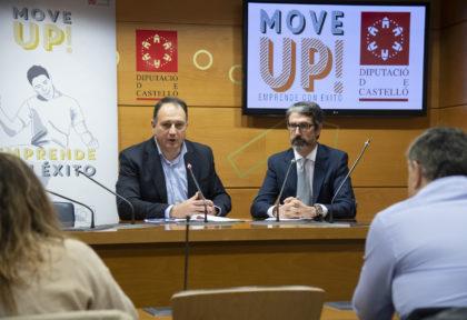 La Diputació de Castelló fa realitat la implantació de 72 empreses en 38 municipis de la província a través del programa Move UP!