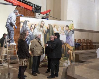 La Diputació reforça el seu compromís amb el patrimoni sacre en culminar el conjunt pictòric de Traver Calzada en la Cocatedral