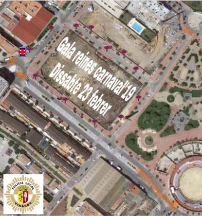 Afectacions del trànsit a Vinaròs per la Gala de les Reines