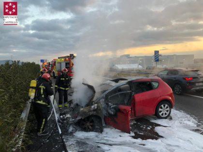 Accident múltiple a l'A-7 prop de la Vall d'Uixó