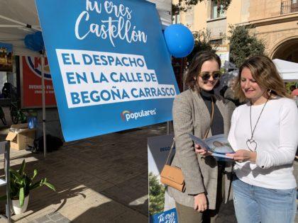 """Carrasco (PP): """"Dinamitzarem el comerç, embellirem els carrers i hi haurà més neteja, tal com ens demanen els veïns del centre"""""""