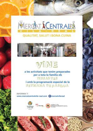 El Mercat Central de Vila-real estrena pàgina de Facebook i nova campanya per a promocionar la programació estable