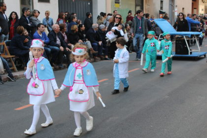 Les millors imatges de la Cavalcada del Ninot infantil a Borriana