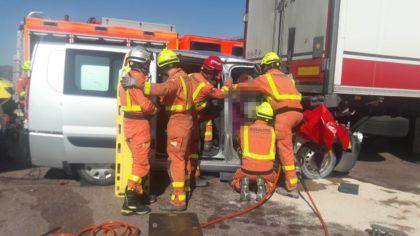Accident de trànsit a Sagunt