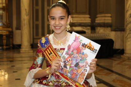 L'AVL ha presentat hui a València el còmic de les falles