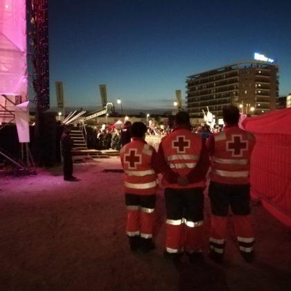 Més de 70 persones ateses per Creu Roja durant els primers dies de Carnestoltes a Vinaròs