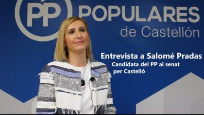 """Salomé Pradas (PP): """"En el congrés els debats són més en clau nacional, al senat són més en clau territorial"""""""
