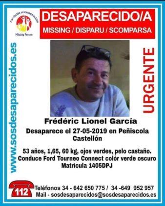 Es busca un home desaparegut a Peníscola