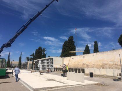 Comencen les obres de la segona fase d'ampliació del cementeri de Benicarló