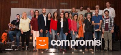 Hugo Font encapçala l'acte central de campanya de Compromís a Cullera