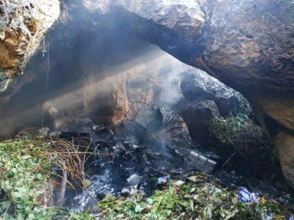 Incendi forestal a Gandia
