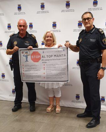 L'Ajuntament d'Orpesa llança una campanya per a combatre el 'top manta'