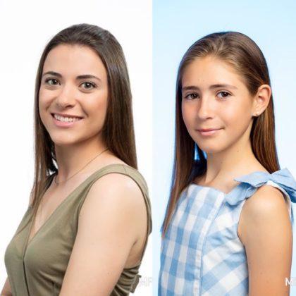 Andrea i Rocío noves reines falleres majors de Benicarló