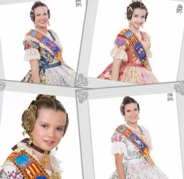 Vota la Reina Fallera i Reina Fallera Infantil de Borriana