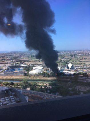 Incendi en l'Oceanogràfic a València