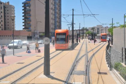 La Generalitat fa treballs d'auscultació de via i desviaments en la xarxa del TRAM d'Alacant