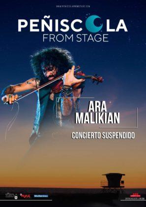 Es cancel·la el concert d'Ara Malikian a Peníscola