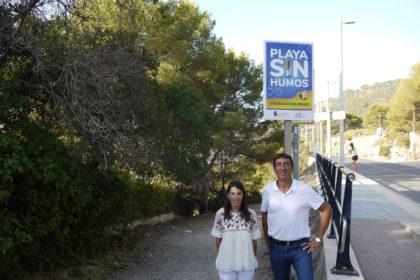 La cala Retor d'Orpesa, primera platja de la Comunitat Valenciana 'Sense fum'