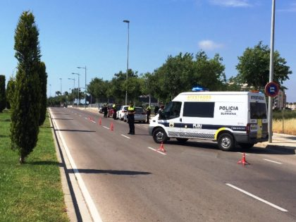 La Policia Local de Borriana realitza una campanya de Control Especial de Distraccions al Volant