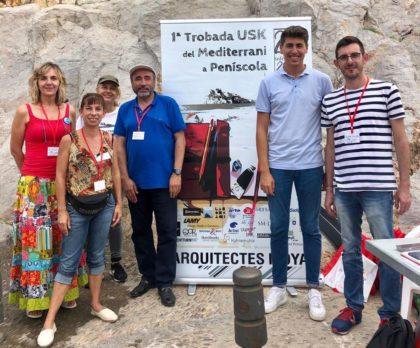 Peníscola congrega a 200 dibuixants i pintors en la I Trobada USK del Mediterrani