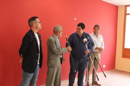 Mascarell celebra l'acte d'investidura del seu alcalde