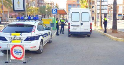 La Policia Local de la Vall d'Uixó realitza diversos controls esta setmana