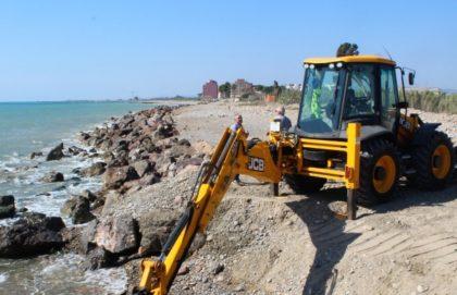 L'alcaldessa instarà a Costes a començar ja els projectes promesos a Borriana per a la protecció del litoral