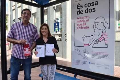 L'Ajuntament de la Vall d'Uixó llança una campanya per a conscienciar sobre la neteja de l'orina de les mascotes en la via pública