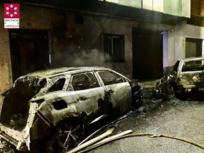 Incendi en un edifici a la Vall d'Uixó